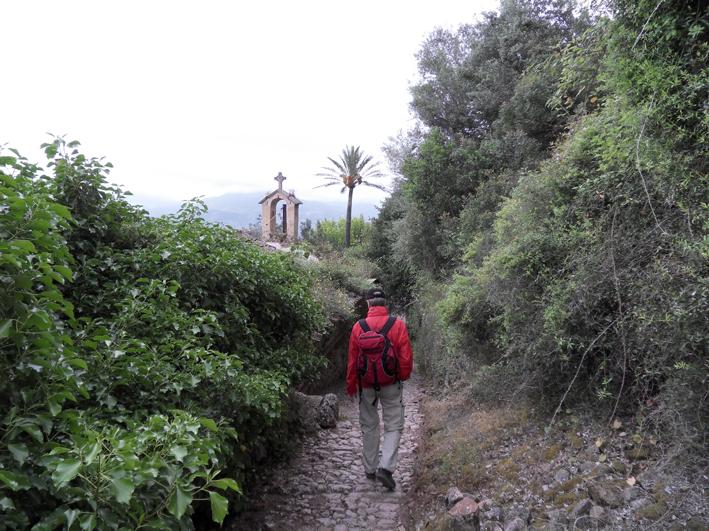 Wandern von Hütte zu Hütte auf Mallorca