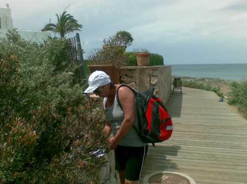 spanisch lernen und wandern